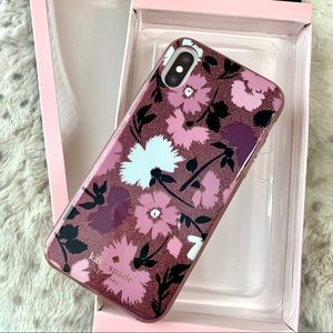 Kate Spade iPhone X/XS Floral Case